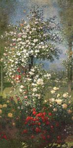 Ernest Quost Roses,Decorative Panel oil painting image