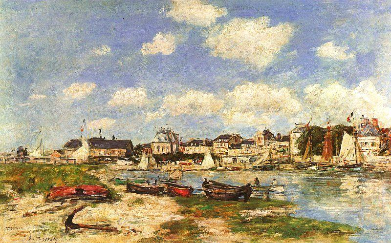 Eugene Boudin Trouville oil painting image