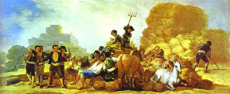 Francisco jose de goya summer oil painting image