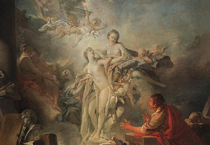 Francois Boucher Pygmalion and Galatea oil painting image