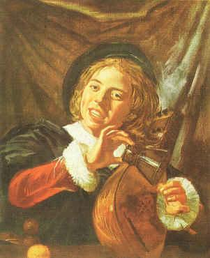 Frans Hals Boy with a Lute oil painting image