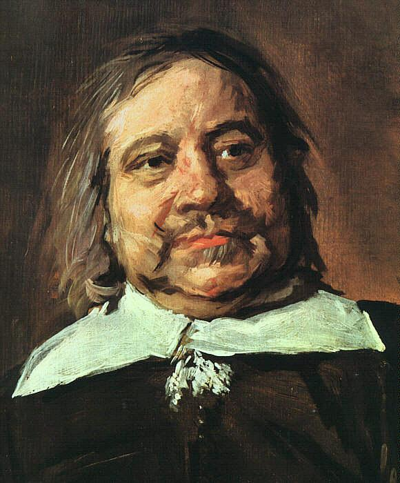 Frans Hals Portrait of William Croes oil painting image