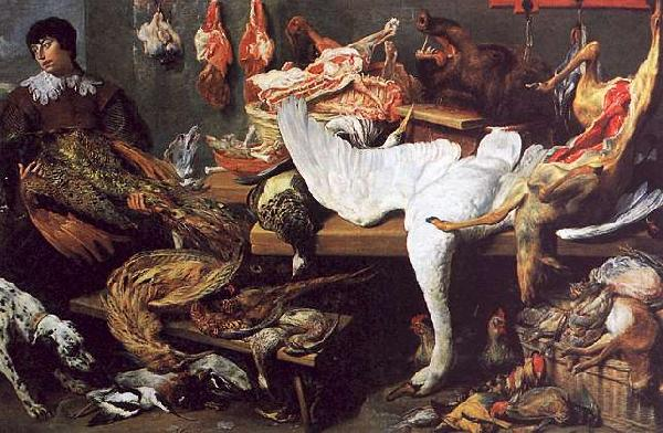 Frans Snyders A Game Stall France oil painting art