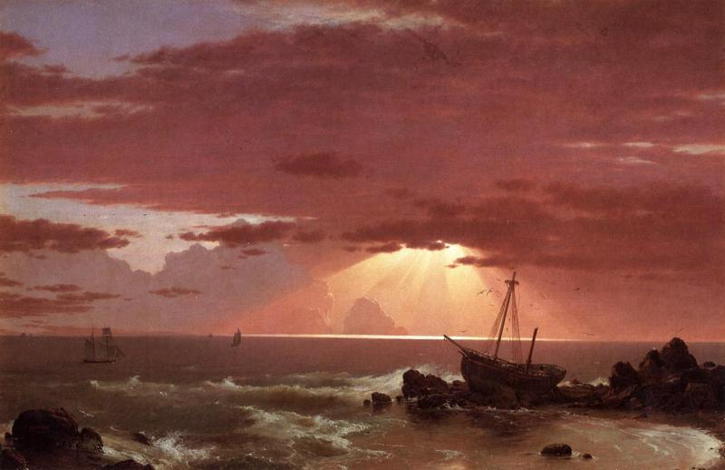 Frederic Edwin Church The Wreck oil painting image