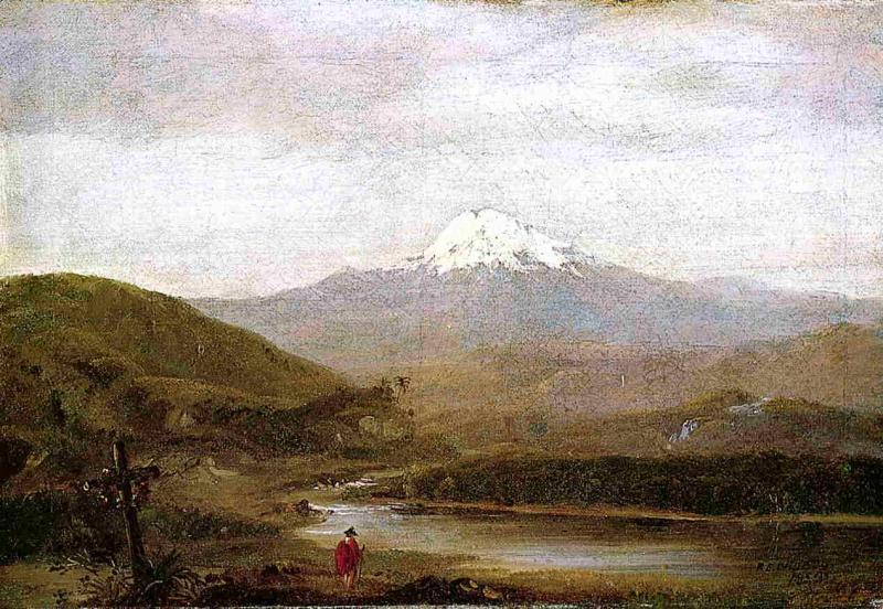 Frederic Edwin Church Cotopaxi oil painting image