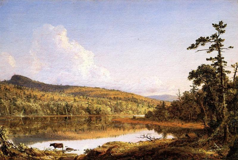 Frederic Edwin Church North Lake oil painting image