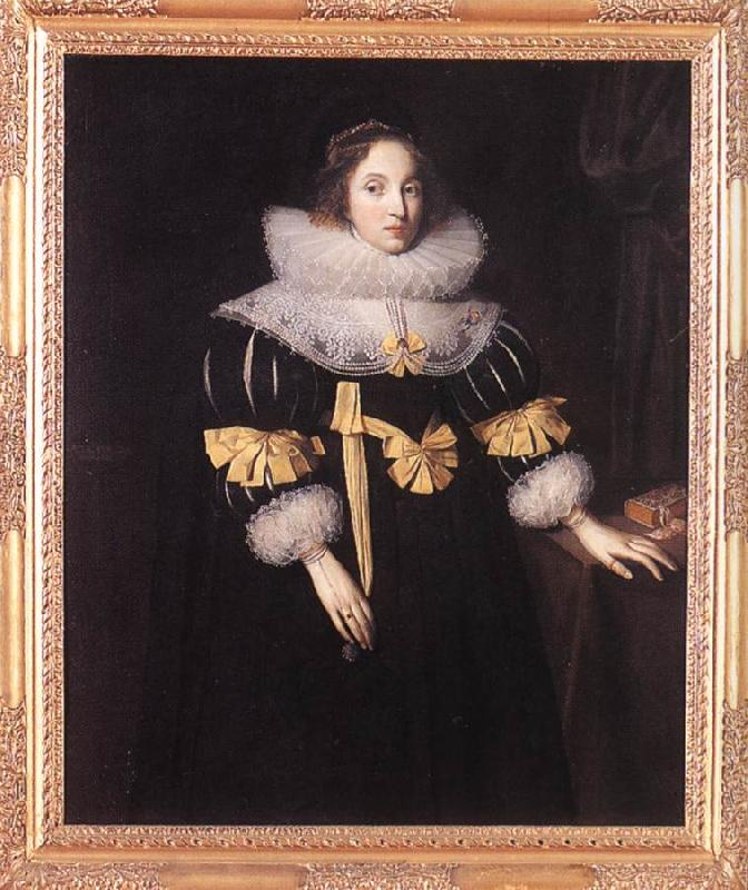 GHEERAERTS, Marcus the Younger Portrait of Lady Anne Ruhout df oil painting image