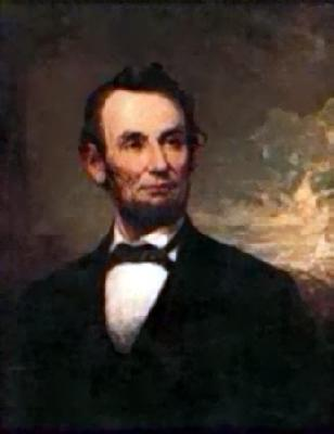 George H Story Abraham Lincoln France oil painting art
