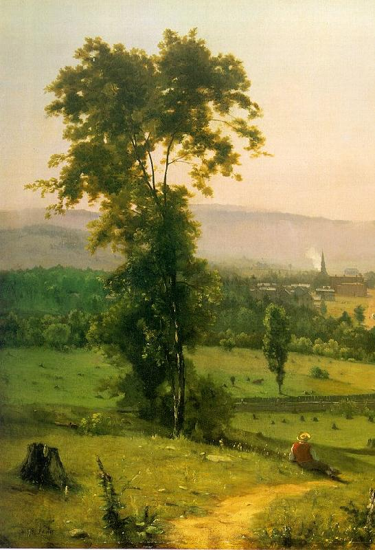 George Inness The Lackawanna Valley France oil painting art