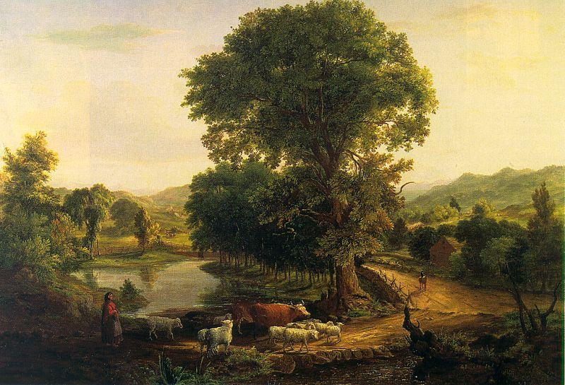 George Inness Afternoon France oil painting art