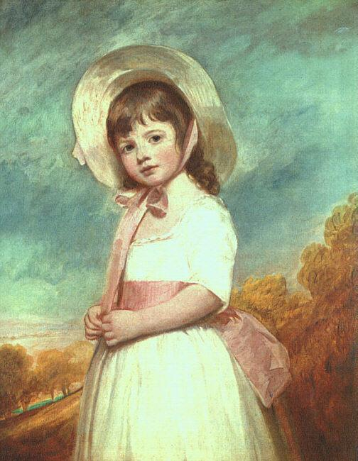 George Romney Miss Willoughby France oil painting art