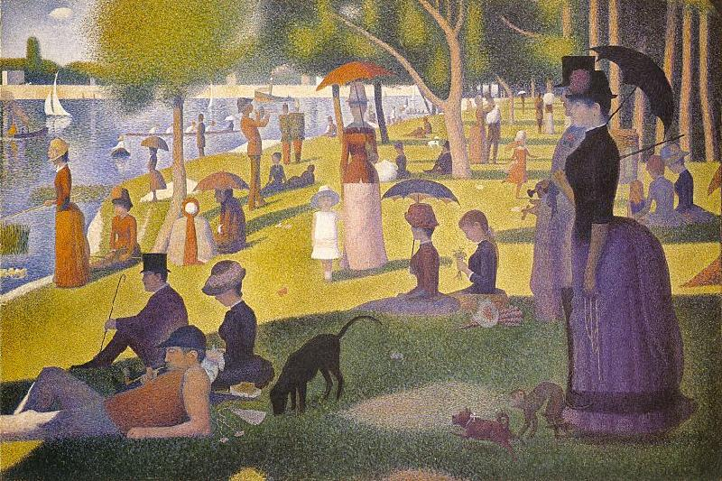 Georges Seurat Sunday Afternoon on the Island of La Grande Jatte France oil painting art