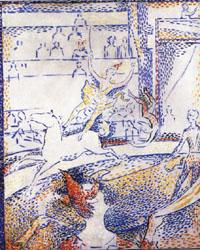 Georges Seurat Study for The Circus oil painting image