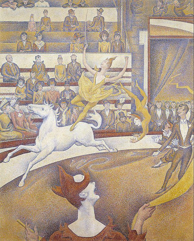 Georges Seurat The Circus France oil painting art