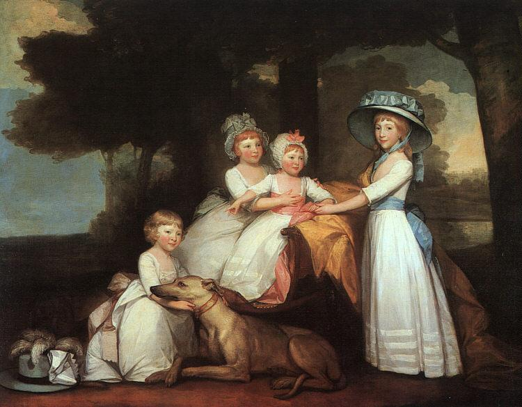 Gilbert Charles Stuart The Percy Children France oil painting art