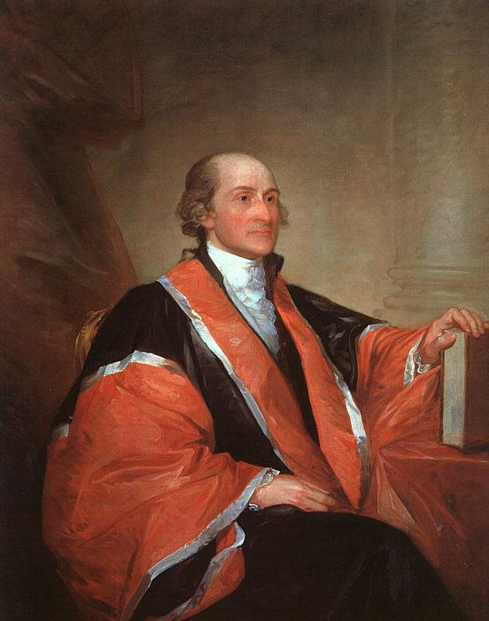 Gilbert Charles Stuart Chief Justice John Jay France oil painting art