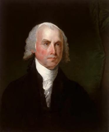 Gilbert Charles Stuart James Madison oil painting image