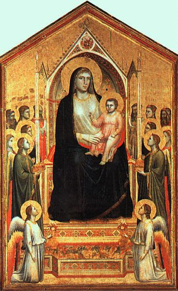 Giotto The Madonna in Glory oil painting image