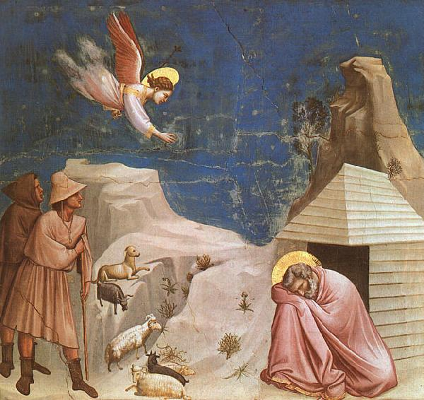 Giotto Scenes from the Life of Joachim  4 oil painting image
