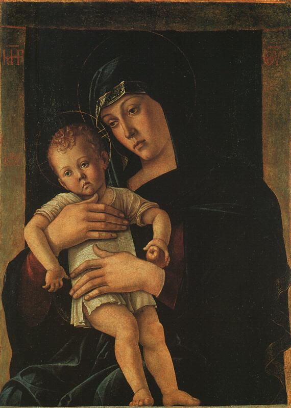 Giovanni Bellini Greek Madonna oil painting image