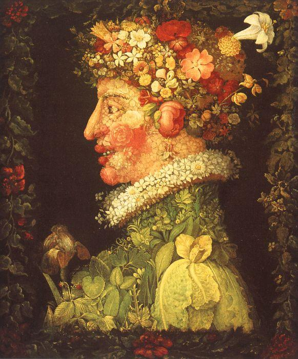 Giuseppe Arcimboldo Spring France oil painting art