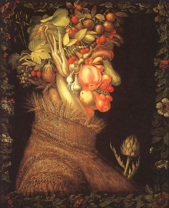Giuseppe Arcimboldo Summer France oil painting art