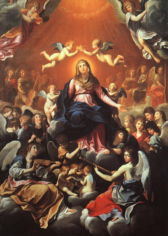 Guido Reni The Coronation of the Virgin oil painting image