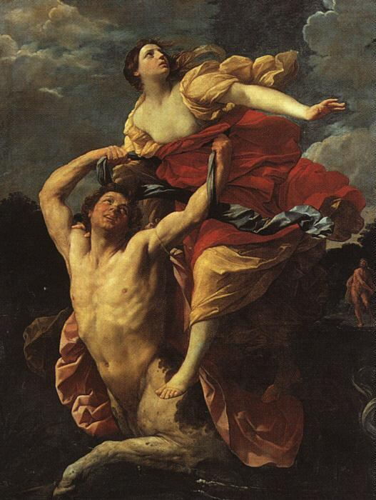 Guido Reni Deianeira Abducted by the Centaur Nessus France oil painting art