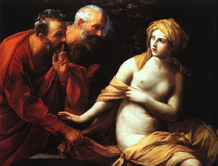 Guido Reni Susannah and the Elders France oil painting art