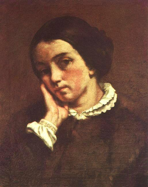 Gustave Courbet Juliette Courbet oil painting picture