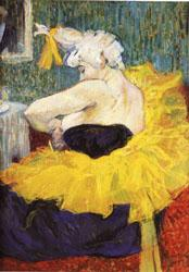 Henri De Toulouse-Lautrec The Lady Clown Chau-U-Kao oil painting image