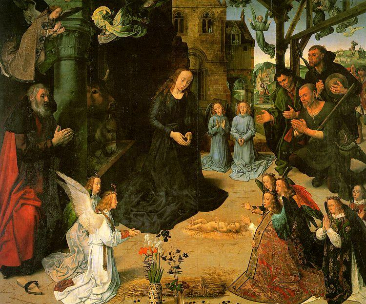 Hugo van der Goes The Portinari Altarpiece oil painting image