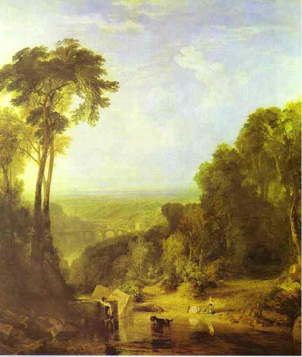 J.M.W. Turner Crossing the Brook oil painting image