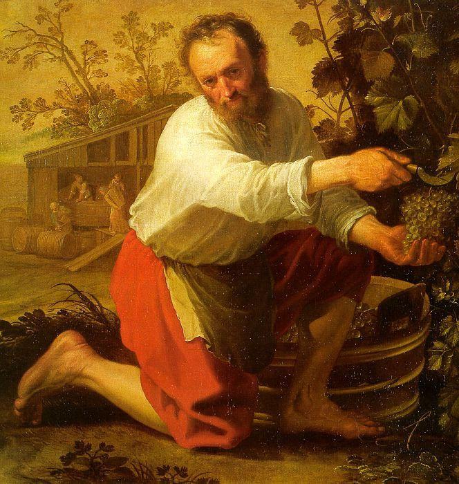 Jacob Gerritsz Cuyp The Grape Grower oil painting image