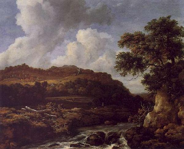 Jacob van Ruisdael The Great Forest oil painting image