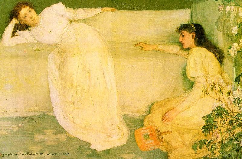 James Abbott McNeil Whistler Symphony in White 3 France oil painting art