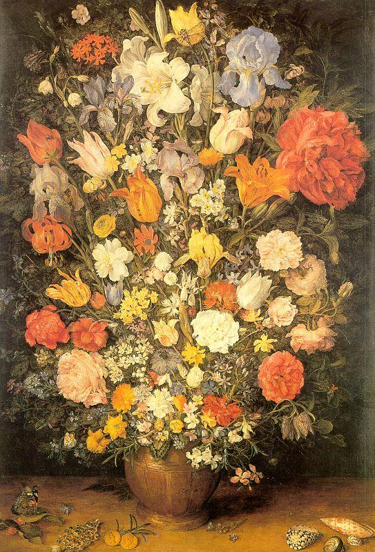 Jan Brueghel Bouquet oil painting image