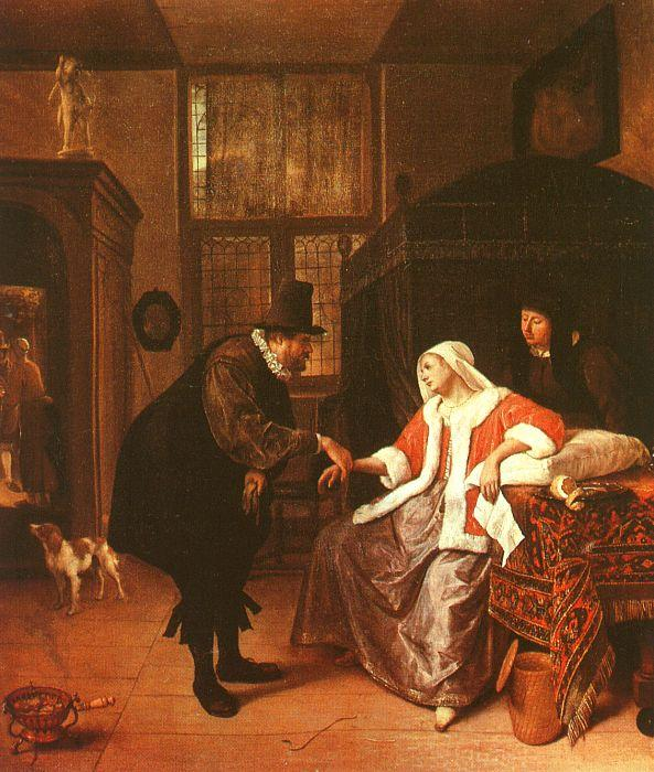 Jan Steen The Lovesick Woman France oil painting art