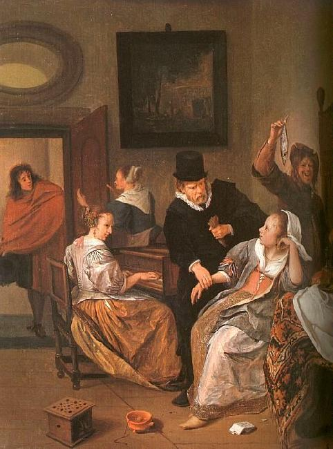 Jan Steen The Doctor's Visit France oil painting art