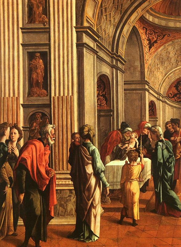 Jan van Scorel The Presentation in the Temple France oil painting art