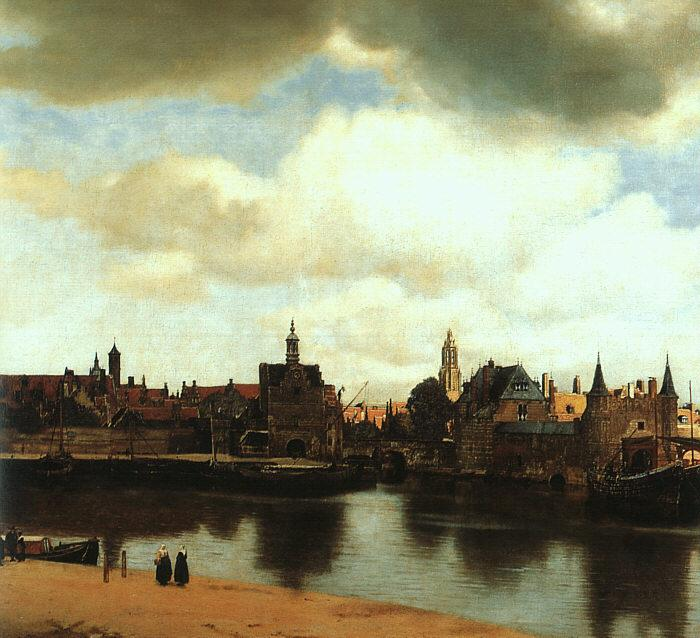 JanVermeer View of Delft oil painting image