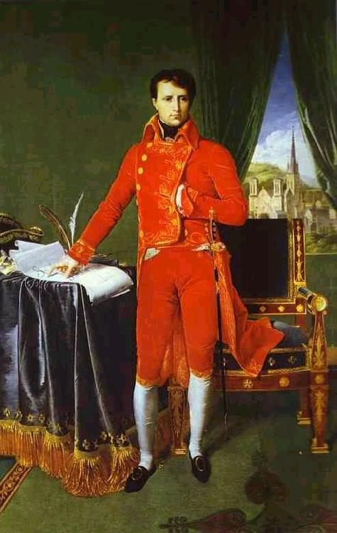 Jean Auguste Dominique Ingres Portrait of Napoleon Bonaparte, The First Council. oil painting picture