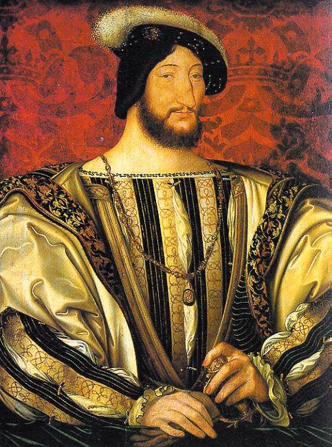 Jean Clouet Francis I oil painting image