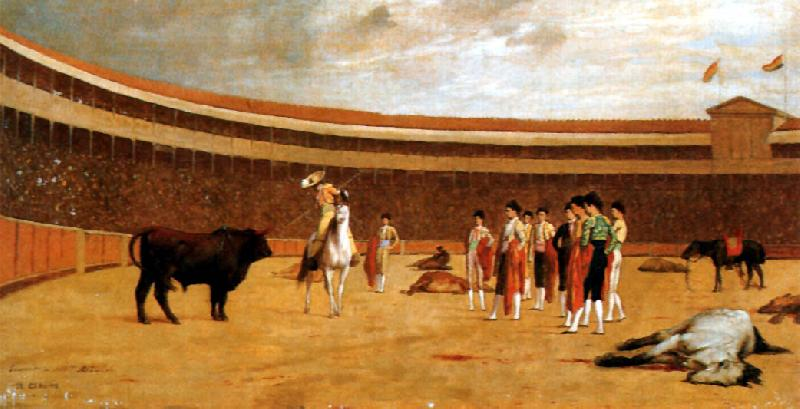 Jean Leon Gerome The Picador oil painting image