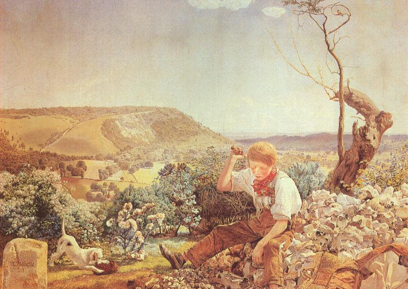 John Edward Brett The Stonebreaker oil painting image