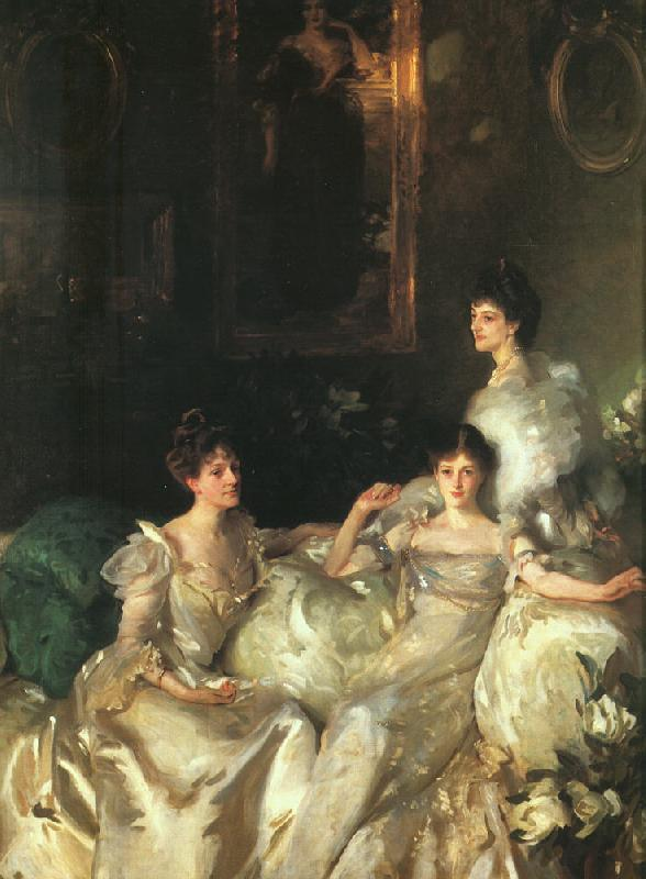 John Singer Sargent The Wyndham Sisters France oil painting art
