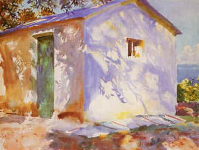 John Singer Sargent Lights and Shadows France oil painting art