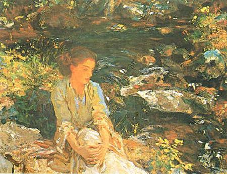 John Singer Sargent Black Brook France oil painting art