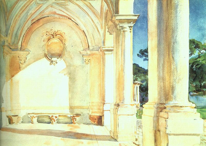 John Singer Sargent Villa Falconieri France oil painting art