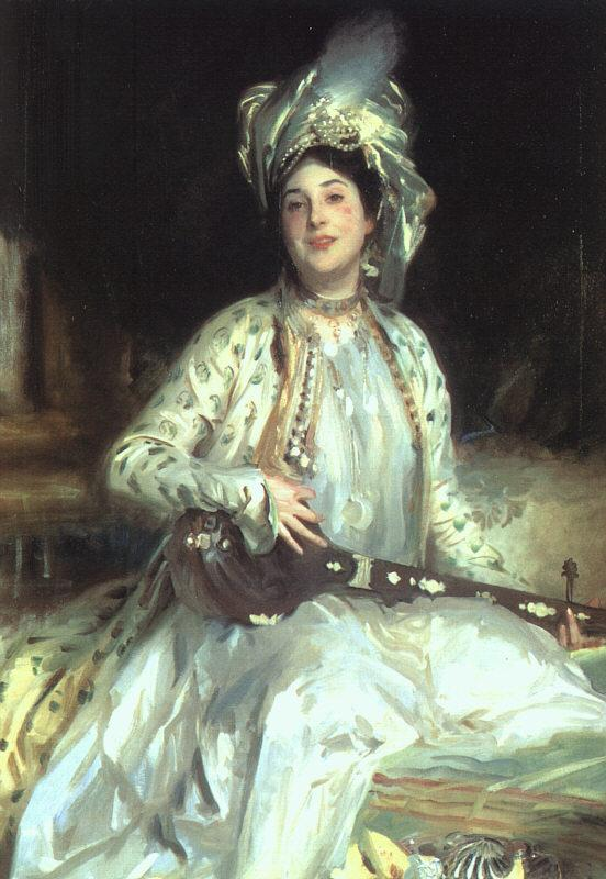 John Singer Sargent Almina, Daughter of Asher Wertheimer France oil painting art